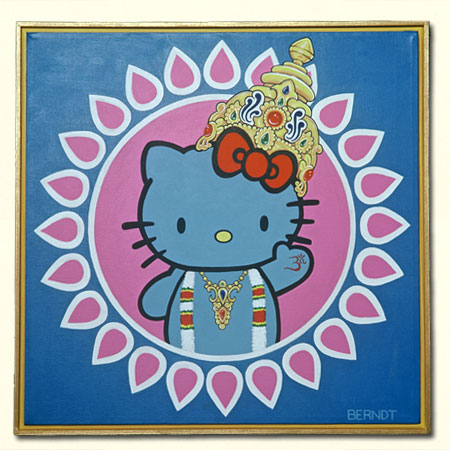 I wish I owned this Kitty Krishna by Vickie Berndt