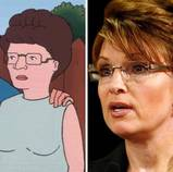 Peggy & Palin are both impressed with themselves