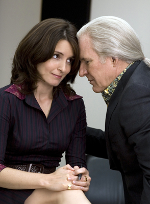 Palin & McCain share an intimate moment. Oops! That's Tina Fey & Steve Martin.