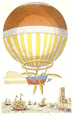 Brings to mind those old steampunkish illustrations of hot air balloons set ...