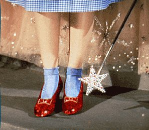 ruby slippers, dorothy's shoes, wizard of oz